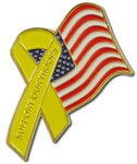 Patriotic, Support, Troops, Ribbon